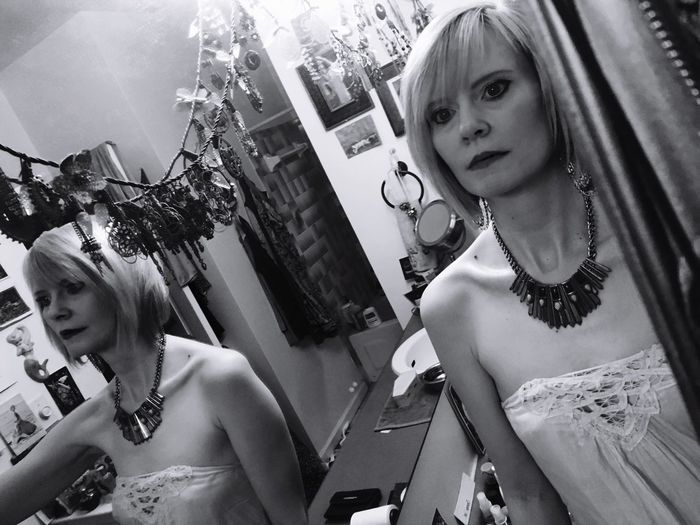 Double exposure. That's Me Girl Blackandwhite Mirror Mirror Reflection Mirrorselfie SheWalksInBeauty SheWalksThisEarth
