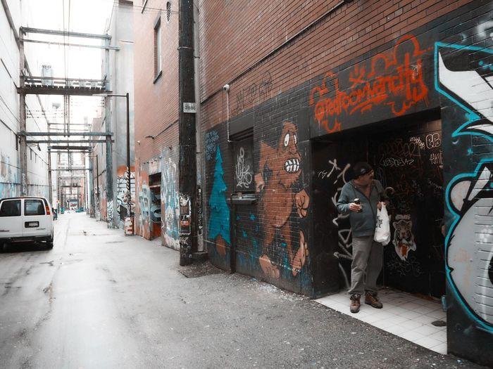 Richard Street Vancouver BC Streetart
