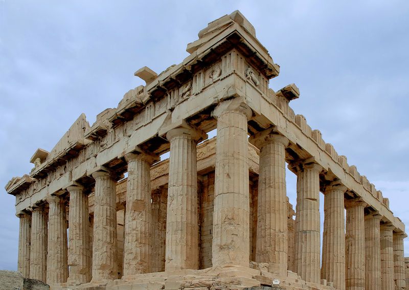 Parthenon Corner Perspective in Athens Greece Acropolis, Athens Archeology Greek Culture Mediterranean Culture Parthenon Ancient Ancient Civilization Archaeology Architectural Column Architecture Athens Classical Greece Collonade Famous Place Greece History International Landmark Monument Mythology No People Old Ruin Temple Travel Destination Travel Destinations