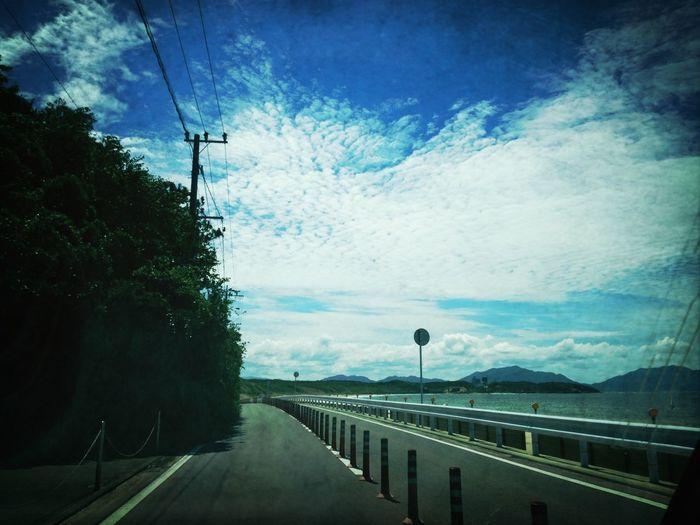 Sunshine Sea On The Road Cloudporn