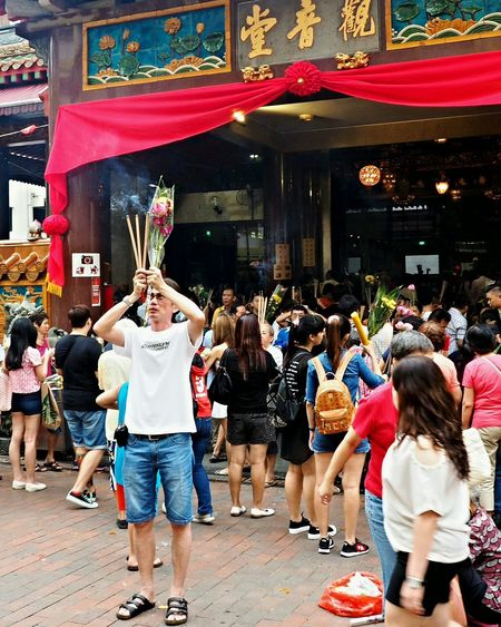 Street Photographer-2016 Eyem Awards Chinese Temple Street Photography Searching For Peace Worshippers Candid Photography