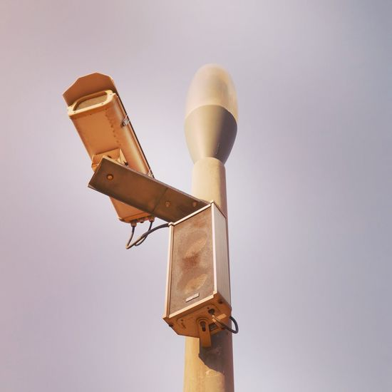 All seeing eye Surveillance Low Angle View Technology No People Communication Speaker Clear Sky Close-up EyeEmNewHere