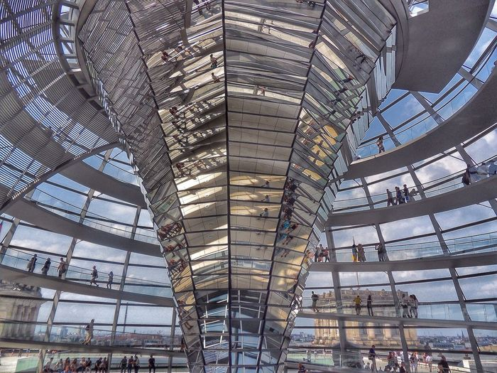 Reichstag Dome Berlin By Norman Foster, Berlin, Germany