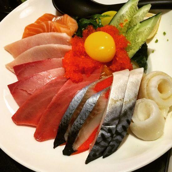 足料!😊 Sashimi  Over Rice Hungry 大滿足 刺身 蓋飯 魚生飯