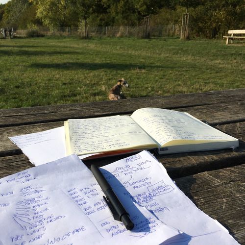 Take Your Work Outside Outdoor Office Digital Nomad Working In The Park
