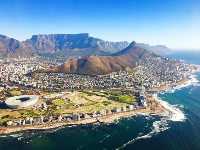 Cape Town Heli flight Lions Head, Cape Town Table Mountain Cape Town Helicopter Helicopter View  Mountain Water Nature Sky Day Beauty In Nature Clear Sky Outdoors First Eyeem Photo My Best Photo