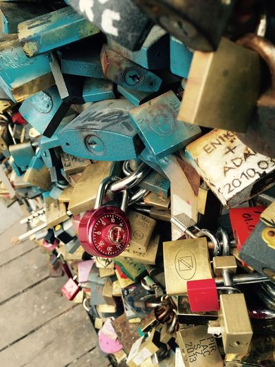 Locked in love. Budapest Traveling