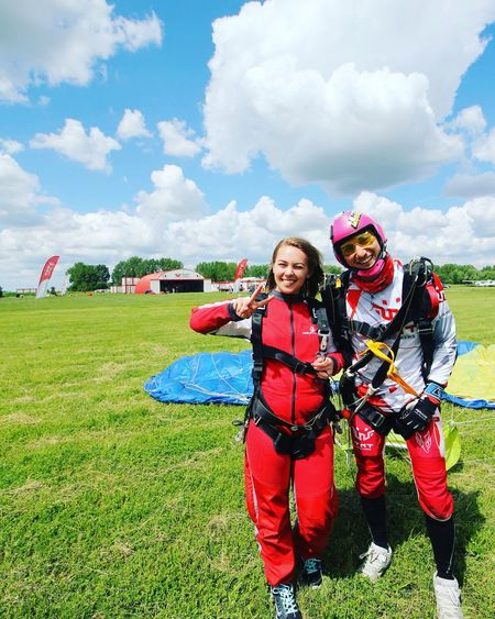 Perfect day for skydive! Adrenaline Skydive Free Wildlife