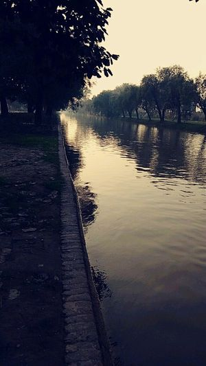 Lahore Vication Tour Love PakistaN Village View Vintage Village Life Sand Fog Water Lake Reflection Tree Nature Outdoors No People Sunset Landscape Beauty In Nature Sky