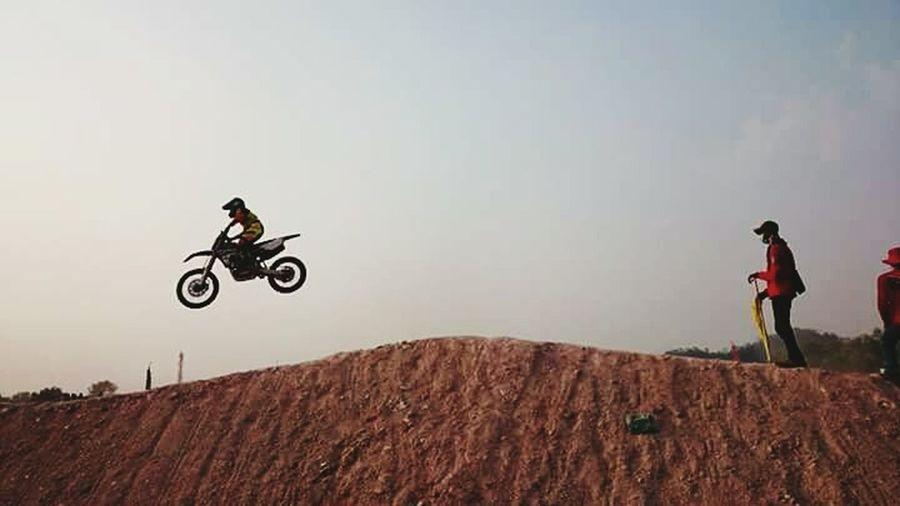 Watching The Game Motorcross  Batam-Indonesia