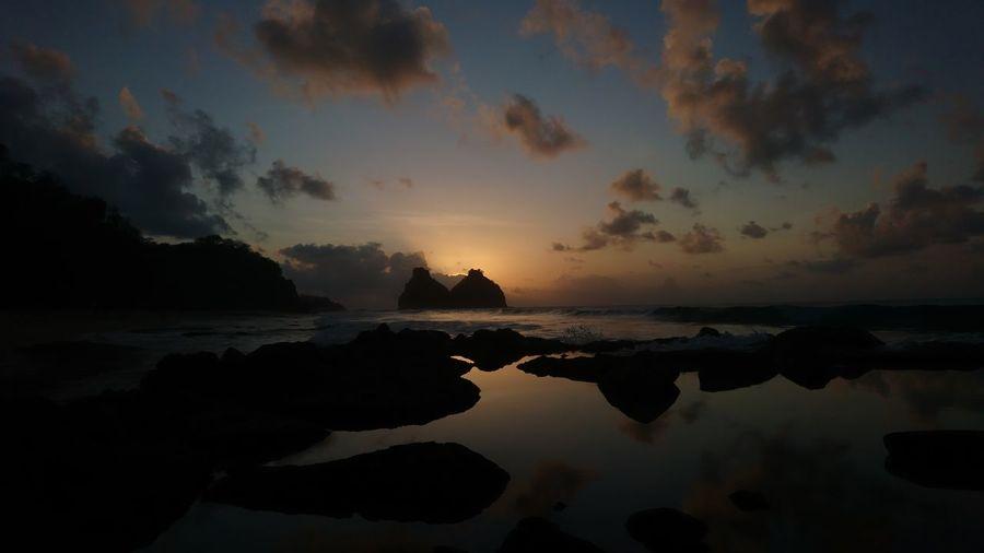 Pôr do sol -