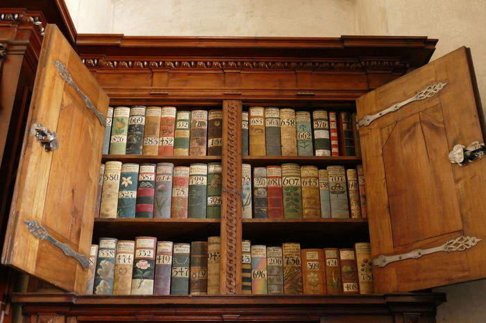 Book Store Books Books ♥ Czech Republic Inside Church Library Pargue Backgrounds Book Bookshelf Close-up Colorful Books Cupboard Doors Day Holy Holy Book Indoors  Large Group Of Objects Library Library Book Library Door No People Shelf Shelves Workbook