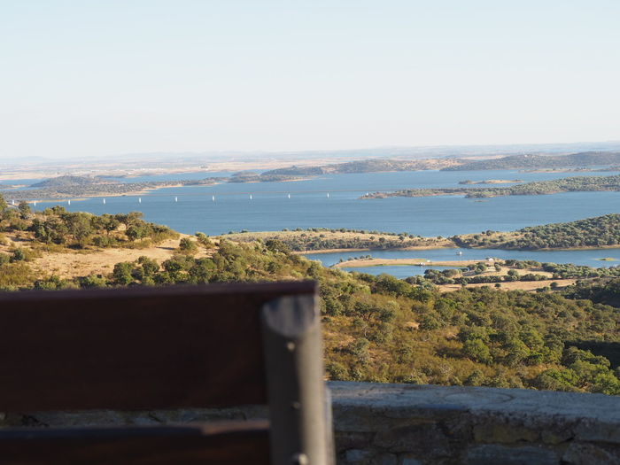 Lets sit back and enjoy the view Dam Lake Alqueva Landscape Bookeh Water Beach Clear Sky Sky Horizon Over Water Landscape