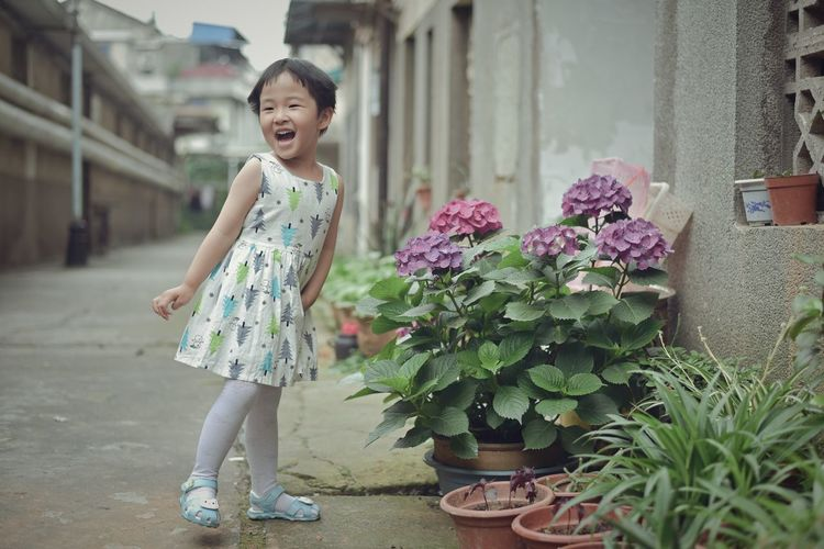 One Person Happiness Beauty Flower