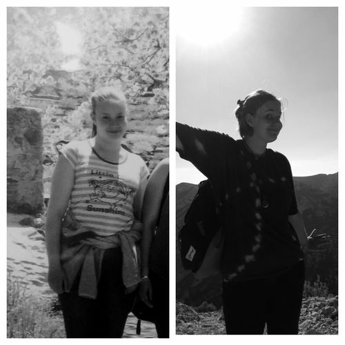 Not a big changement between me in the past (5 years ago) and myself now, just a little bit happier and confident :) Oldpicture 5years Changement Confidence  Evolution  Young Women