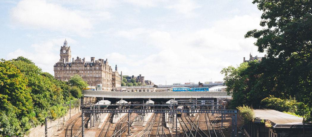 Coaches and trains Edinburgh Eye Em Scotland Fuji X100s FUJIFILM X100S Scotland Train Train Station VSCO Vscofilm X100S