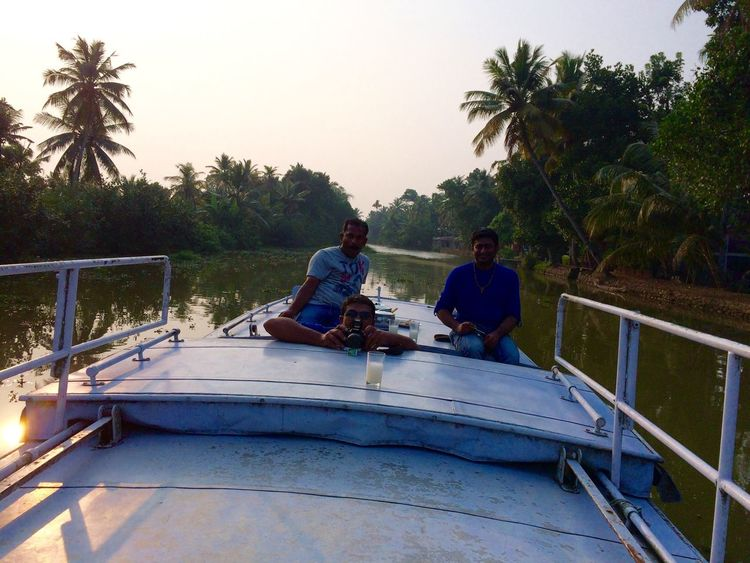 Finding New Frontiers Tranquility Travel Boating Top Of A Boat Enjoying Life Boat Ride Backwaters Kerala Evening Uniqueness Jeemals