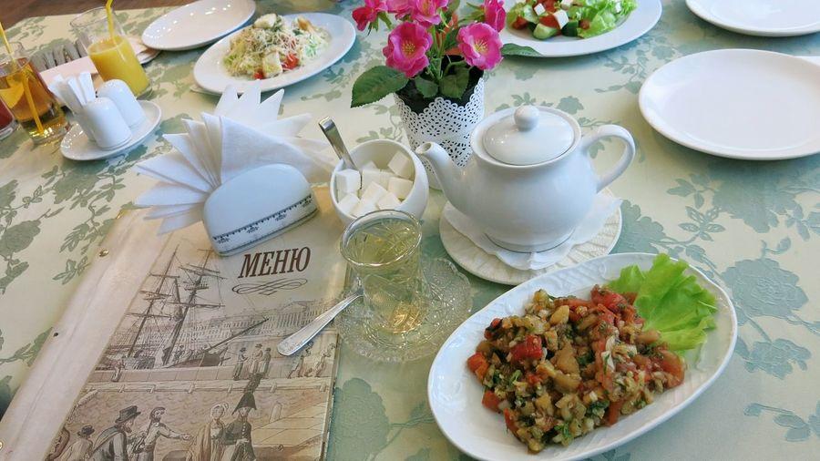 стол обед блюда ресторан  гранд-кафе нева гранд-кафе Санкт-Петербург вкусно Table Dinner Lunch Supper Grand Cafe Restaurant Grand Cafe Neva Saint-Petersburg Menue меню
