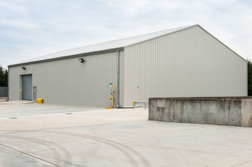 Industrial storage facility Industrial Architecture Building Exterior Built Structure Cloud - Sky Corrugated Iron Day Industry No People Outdoors Sky Storage Warehouse