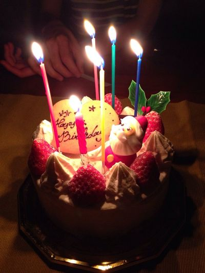 Happy BD! 今日なんだけど忙しいので昨日フライングw Happy Birthday! IPhoneography Cakes