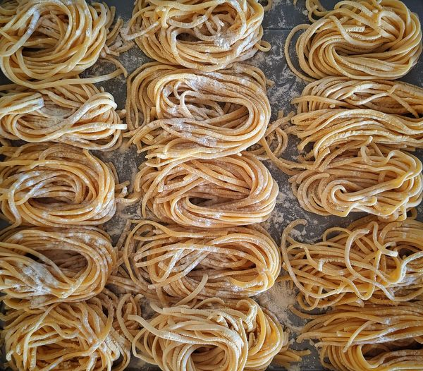 Full frame shot of pasta