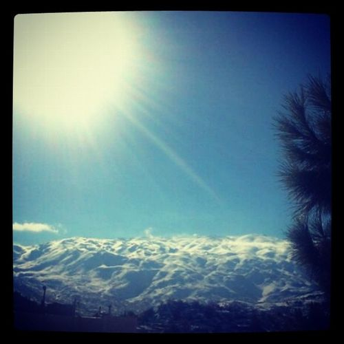 Instalebanon Bekaa Rachaya Snow sunmountainharamouncoldnatureandroidographytagsforlikeslikeforlike