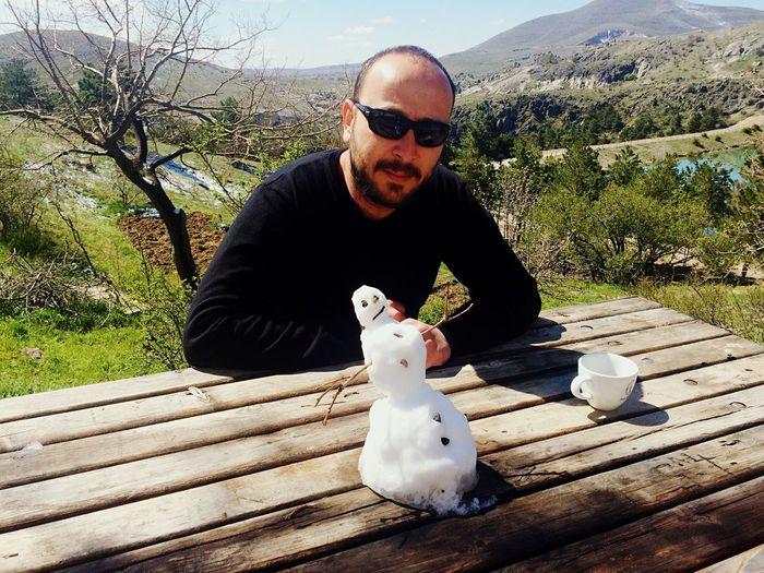 Summer Time With My Snowman Sille Konya Ankara Yaz Gelmedi Ya La Humans Dont Worry