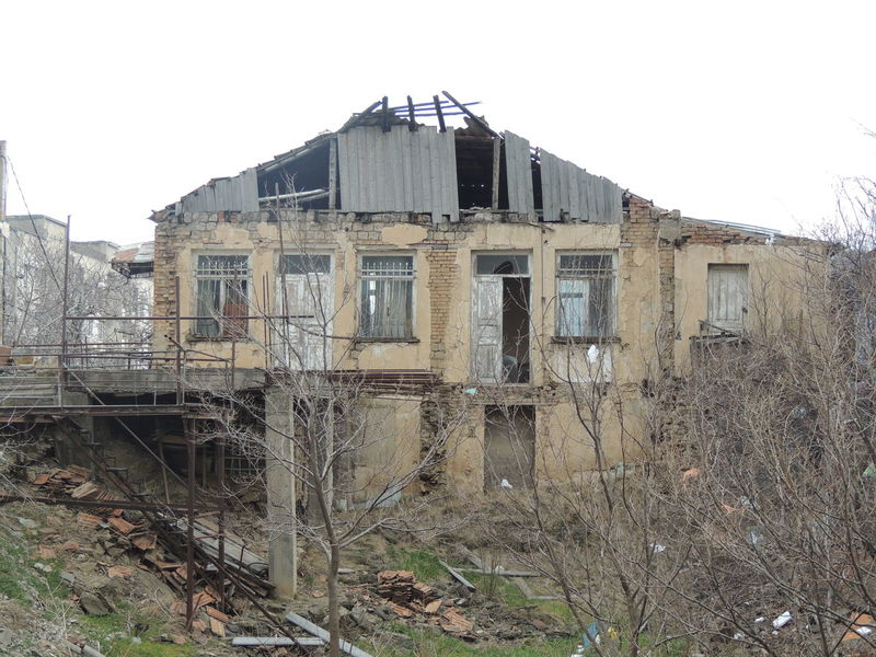 Abandoned Architecture Bad Condition Building Exterior Built Structure Clear Sky Damaged Day House Nature No People Obsolete Outdoors Run-down Sky