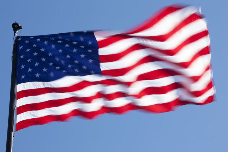 The American flag Country Democracy USA USA FLAG American Culture Concepts And Topics Cultures Flag Flag Pole Freedom Independence Low Angle View No People Outdoors Patriotism Stars And Stripes Stars And Stripes Flag Striped Symbol