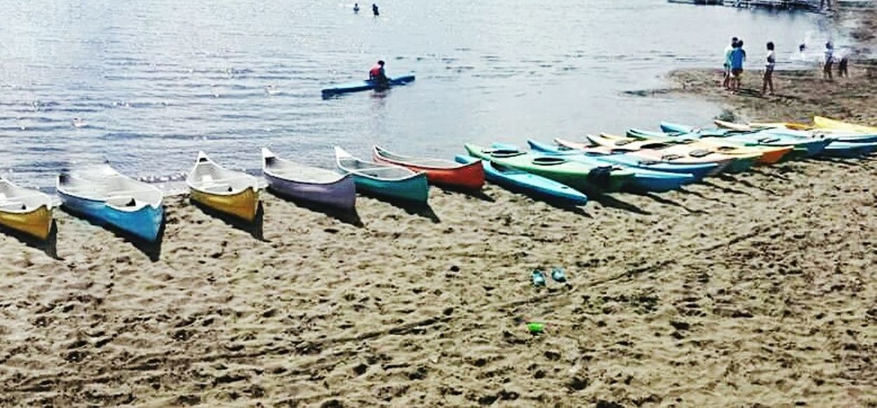 Nature Sand Transportation Beach Water Outdoors Kayak Puerto Varas, Chile Travelling Photography Tranquility Landscape Travel Destinations