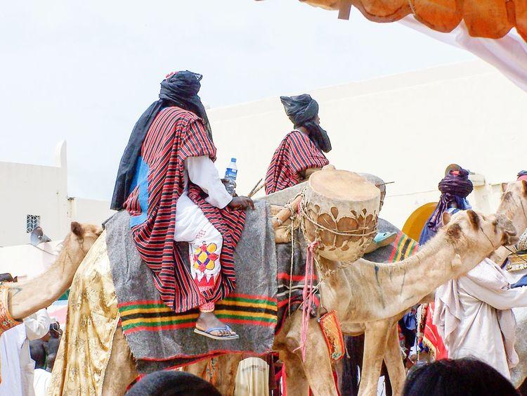 Service Animals Nigerians Camel Horseback RidingShoot in Abuja, Nigeria, in 2007.