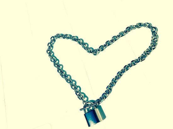 Necklace of love Couple EyeEmNewHere Locked Love Relationship Romance Valentine's Day  Woman Chain Chains Close-up Day Heart Shape Jewellery Jewelry Locket Locket_of_love Necklace No People Realtionship