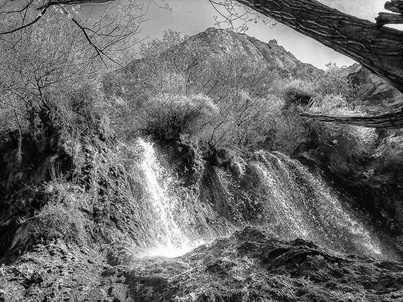 Sony W30 Montain  Cataract Waterfall Blackandwhite Monochrome Landscape Iran