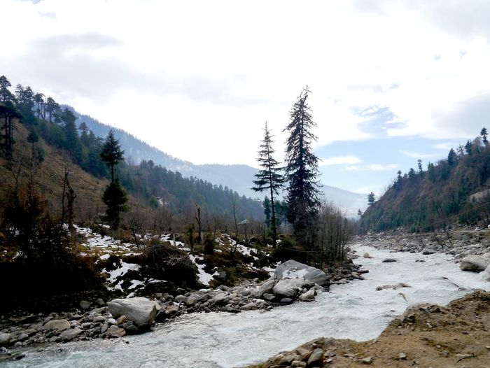 Beauty In Nature Day Himalayan Range Himalayan Road Idyllic India Travel Landscape Manali Mountain Nature No People Non-urban Scene Outdoors Scenics Sky Tranquil Scene Tranquility Tree