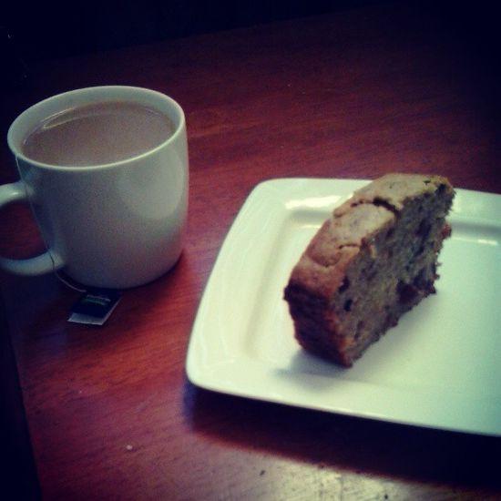 Strong cuppa and banana cake Thatstheway
