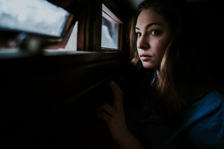 Available Light Beautiful Woman Dark Darkness And Light Daylight Depression - Sadness Glimpse Of Light Indoors  Indoors  Inside Lonely Looking Through Window Melancholy Moody Rainy Days Sadness Skin Thinking Window Without You Young Woman International Women's Day 2019