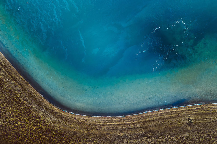 Ice Drone  Aerial View Aerial Mavic Mavic 2 Mavic 2 Pro Birds Of EyeEm  Europe Ice Water Frozen Blue Sea Nature Day Beauty In Nature Tranquility Turquoise Colored Tranquil Scene High Angle View Scenics - Nature Underwater Outdoors Rock Geology Land Hot Spring Solid No People Power In Nature