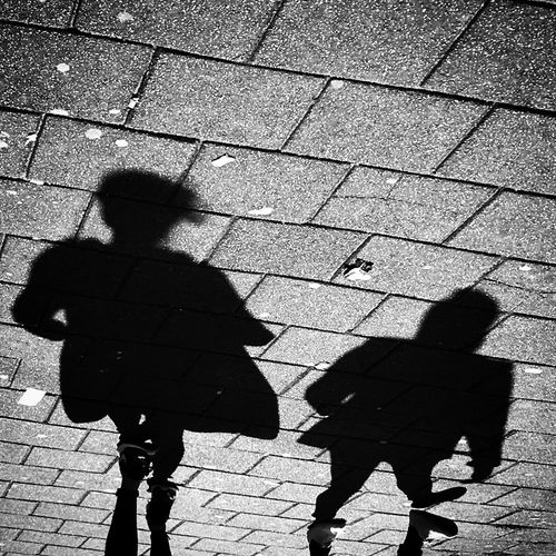 Silhouette Shadows Light Street Streetphotography Pavement Sunny Day Bnw Bnw_collection Blackandwhite Photography Blackandwhite Mmaff From My Point Of View Eye4photography  EyeEm Gallery Taking Photos Hello World EyeEm Best Edits