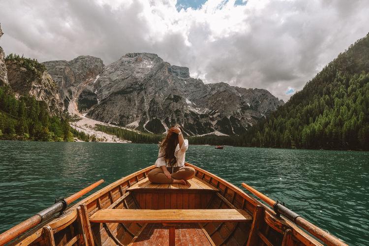 Lake One Person