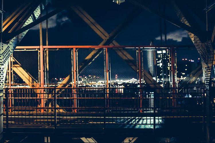 NYC LIFE ♥ Bridges Nightshot Downtown Brooklyn Canon Creative Light And Shadow