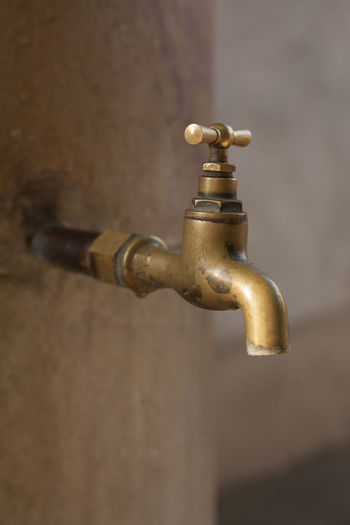 Close-Up Of Faucet