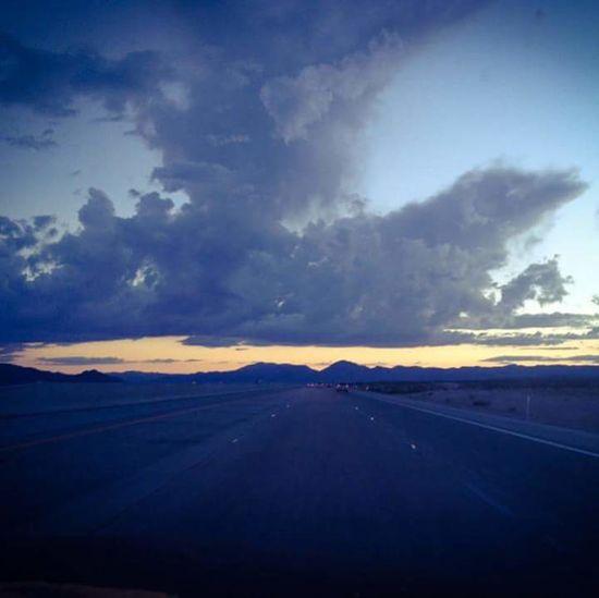 Sky Desert Sunset Landscape Road Scenics Nature Road Trip Travel Destinations Travel Adventure USAtrip Cloud - Sky Las Vegas