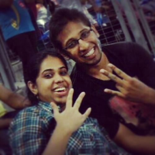 Madness at the stadium!! IPL6 PepsiIPL PWIvsMI