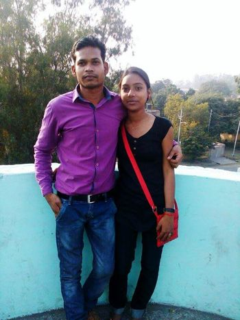 Me and my gf Friendship Togetherness Bonding Standing Lifestyles Leisure Activity Love Tree Warm Clothing Person Casual Clothing Full Length Front View Looking At Camera Clear Sky Friendship Vacations Young Adult Arm Around Day Affectionate Ravi First Eyeem Photo