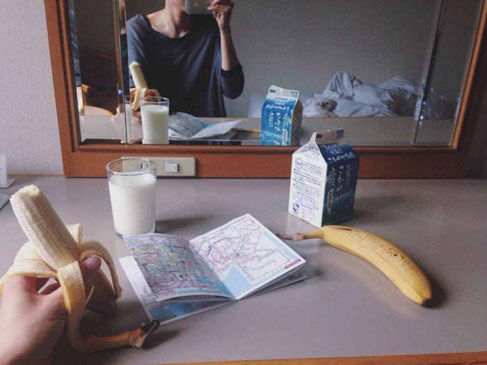 Hotel Room Breakfast