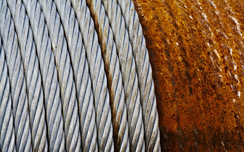 Abstract Backgrounds Close-up Commercial Detail Development Factory Heavy Hungary Industrial Iron Macro Metal No People Noise Old Outdoors Product Production Rope Structure Texture Windlass Wire Working