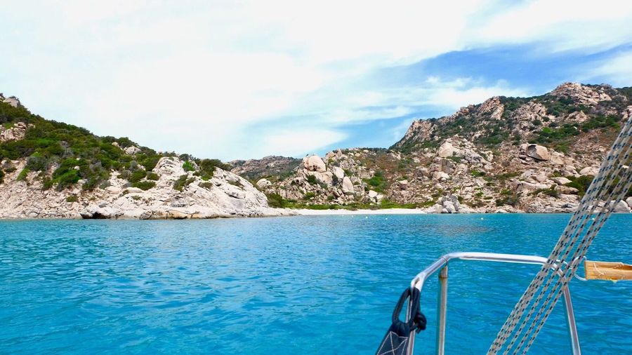 Sky Sea Water Nature Day Tranquility Beauty In Nature No People Outdoors Scenics Mountain Sardinia Sardegna Italy
