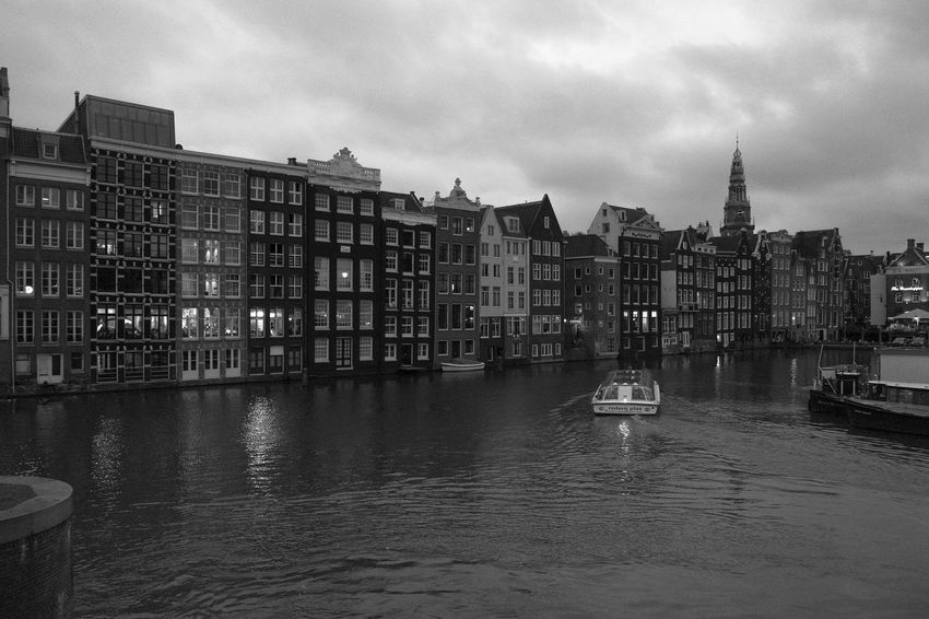Monochrome Amsterdam Archineos Architecture B&n B&w Bianco E Nero Black And White Blanco Y Negro Canal City Holland Netherlands No People Outdoors Ugo Villani