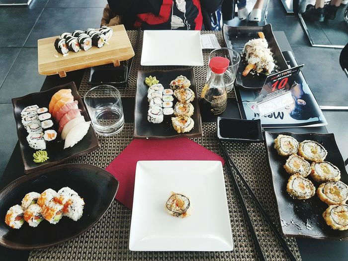 Sushi Variation Choice Large Group Of Objects Food No People Dessert Sweet Food Freshness Ready-to-eat First Eyeem Photo