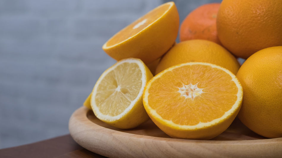 Citrus Fruit Close-up Cross Section Day Focus On Foreground Food Food And Drink Freshness Fruit Healthy Eating Indoors  No People Orange - Fruit SLICE Yellow